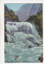 Gotthardbahn Reussfall bei Goeschenen [4084] Switzerland Postcard Goetz 329b