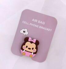 3D air bag cell phone bracket Grip Finger Ring