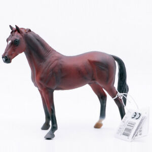 CollectA Horse Country Farm Animal Hanoverian Stallion Bay 1:20 Scale Toy #88341