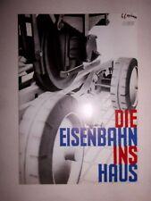 1935 JOHANN CULEMEYER DIE EISENBAHN INS HAUS PROSPEKT SELTEN STRASSENROLLER