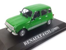 IXO ALTAYA 1/43 RENAULT 4 GTL 1989 VERDE GREEN NUESTROS QUERIDOS COCHES