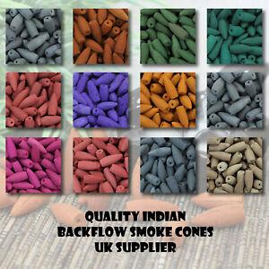 Backflow Incense Cones Quality Indian Back Flow many fragrances UK seller