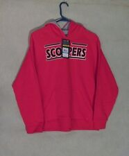 Z8110 Youth's Under Armour Red Scoopers Hooded Sweatshirt-XL