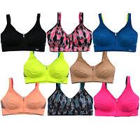 Victoria's Secret Sports Bra Wireless Freestyle Front Zip Close Vsx Vs New Nwt