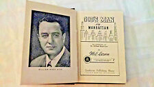 God's Man in Manhatten 1950 - by Mel Larson-signed by subject-William Ward Ayer