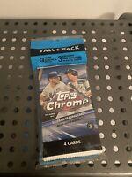2020 Topps Chrome Baseball Cello Value Pack  - BRAND NEW SEALED  Fast Ship