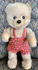 """Wow 1960's Schuco Tagged Bigo-Bello Baby Ursi 10"""" Mohair Teddy Bear Cutie"""