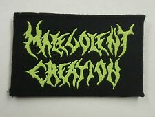 MALEVOLENT CREATION WOVEN PATCH