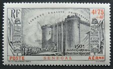 1939 French revolution 150 years anniversary Air Sg 212 Mh from Senegal Cv £19