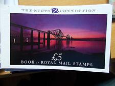 DX10 £5 The Scots Connection Prestige Booklet Complete - Under Face - Cat £22