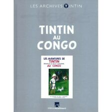Les archives Tintin Atlas: Tintin au Congo B/N, Moulinsart, Hergé FR (2013)