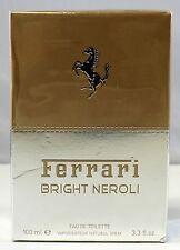 Ferrari Bright Neroli For Men 3.3 Oz Eau De Toilette Spray Sealed New Box Rare