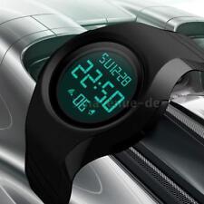 SKMEI Wasserdichte Sportuhr Uhr LED Armbanduhr Männlich Chronograph Alarm L9Q2
