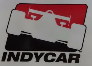IndyCar Series Logo Sticker Decal 3 x 4 (Waterproof/Indoors/Outdoors)