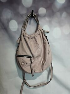 Long & Sons Ladies Bag Bucket Hobo Bag Detachable Long Handle OYSTER