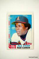 1982 TOPPS BASEBALL CARD # 547 ROD CAREW California Angels  mint