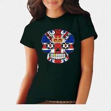 Skull Regular Personalised T-Shirts for Women