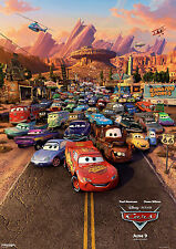 DISNEY CARS MOVIE POSTER PRINT A3 260GSM