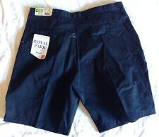 Nwt Royal Park School Uniform Style 116 Color 5 Navy Size 30 Pr Shorts