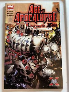 Age Of Apocolypse 2 10th Anniversary Miniseries Beautiful Chris Bachalo Art
