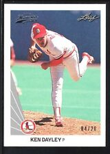KEN DAYLEY 2012 LEAF MEMORIES 1990 BUY BACK SILVER  #275 CARDINALS SP #04/20