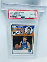 2018-19 Panini Hoops Luka Doncic Class of 2018 PSA 8 #3 Rookie