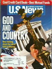 2005 U.S. News & World Report Magazine: God and Country- Role of Faith in the US
