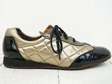 VOLTAN ♫ Halbschuhe Sneakers Gr. 40,5 Echtleder Damen Woman Shoes