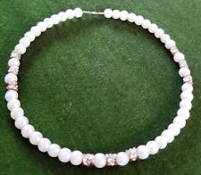 Very Nice Small White Bead Bracelet