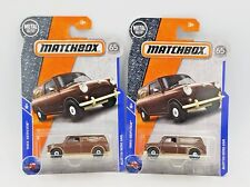 2018 Matchbox Austin Mini Van - No. 27 - Brown - Set of 2