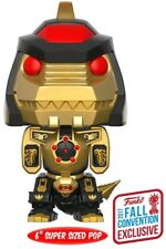 "Power Rangers - Dragonzord Black & Gold NYCC 2017 US Exclusive 6"" Pop! Vinyl"