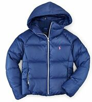 Ralph Lauren Down Filled Quilted Hooded Parka Jacket Coat 2 2T