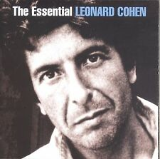 The Essential Leonard Cohen 2-disc CD NEW Suzanne Sisters Of Mercy