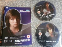 Dvd blue murder series two disc only (192)