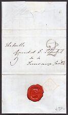 1834 Irish entire to MP Randall Plunkett with fine Dublin hand struck 2