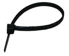 """Plastic Ties 11.1"""" Black Uv 50# Tensile 500 Per Bag"""