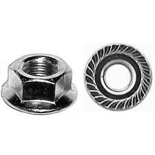 3/8-16 3/4 standard flange spin lock nuts 25 Pcs