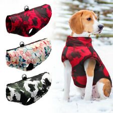 Waterproof Winter Dog Vest Clothes Warm Padded Coat Jacket for Medium Large Dogs