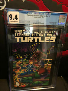 Teenage Mutants Ninja Turtles #9 CGC 9.4 NM OW/WP Mirage