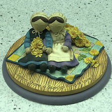 1995 Willitts Designs Figurine Simple Blessings 29005 sisters share special love