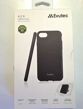 Evutec Karbon AER Case Cover for Apple iPhone 7(4.7'') with Air Vent Mount Black