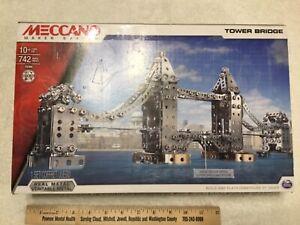 Meccano Maker System Tower Bridge Erector Set MPN 15304