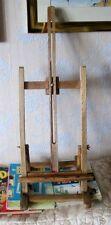 Artists  Large Beech Wood Adjustable Table Easel