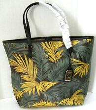 Lauren Ralph Lauren Amberly Palm Dalia Cargo Tote Bag RT