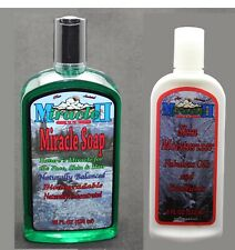 PIC 2- MIRACLE II / 22oz SOAPS OR LOTION 8 oz  CHEMICAL FREE pH BAL FREE SHIP