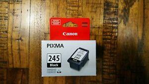 GENUINE AUTHENTIC CANON PG-245 Black Ink Cartridge for PIXMA MG Printers 8.0ml