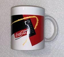 Vintage 5th Avenue Coca-Cola Glass Mug Coke RARE 90s