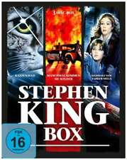 Stephen King Horror Collection - 3 Blu Ray Box