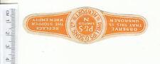 More details for british beer label. phillips, newport orange