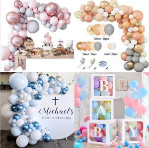 Macaron Balloon Arch Garland Kit Baby Shower Wedding Birthday Party Decor AU